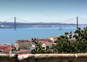 Castle view Lisbon