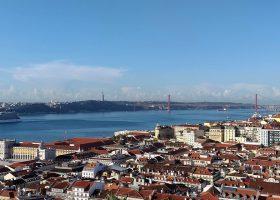 Lisbon top view