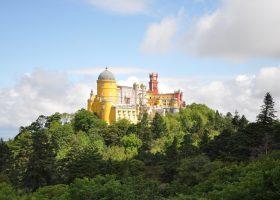 Pena palace view